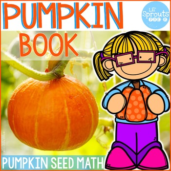 Pumpkin Book - Math Emergent Reader - Counting 1-20 - PreK