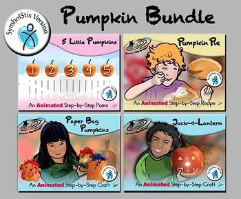 Pumpkin Bundle - Animated Step-by-Steps SymbolStix