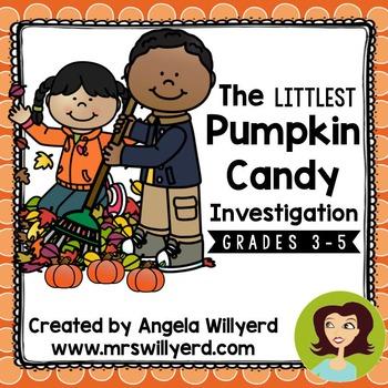 Pumpkin Candy Science: The Littlest Pumpkin Candy Investig