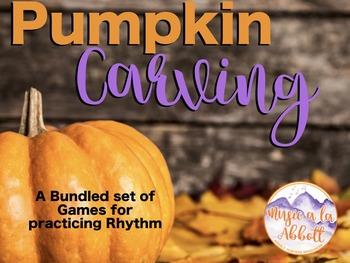 Pumpkin Carving {A Bundled Set of Rhythmic Reading Games}
