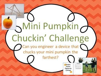 Pumpkin Chuckin' STEM Engineering Challenge