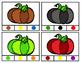 Pumpkin Color Clip Cards