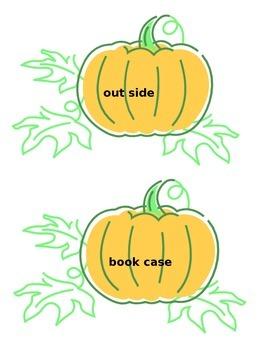 Pumpkin Compound Words Game