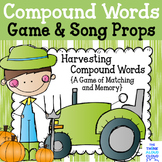 Fall Compound Words Game - {Concentration with a Twist!}