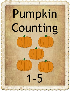 Pumpkin Counting 1-5