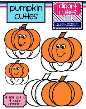 Pumpkin Cuties Clipart (Perfect for Fall)