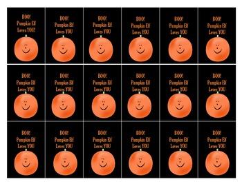 Pumpkin Elf Brag Tag