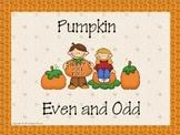 Pumpkin Even and Odd