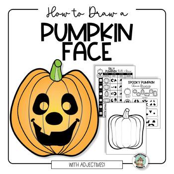 Fall Activities: Pumpkin Face Roll & Draw Jack-O-Lanterns