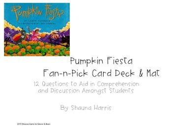 Pumpkin Fiesta Fan & Pick Cards (Trophies 2nd grade)