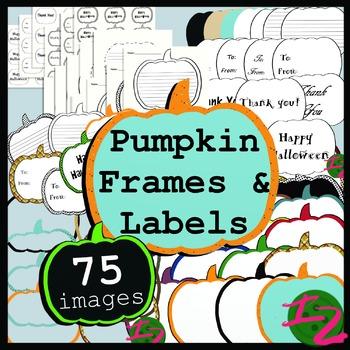 Pumpkin Frames and Labels