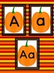 Pumpkin Full Page Alphabet Letter Posters Uppercase and Lowercase