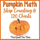 Fall Activities Skip Counting and 120 Charts