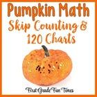 Pumpkins Halloween Activities Skip Counting and 120 Charts