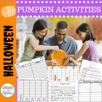 Halloween: Pumpkin Fun-tivities: Integrating Math, Science