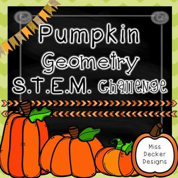 Pumpkin Geometry STEM Challenge