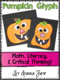Pumpkin Glyph Math and Literacy Fun