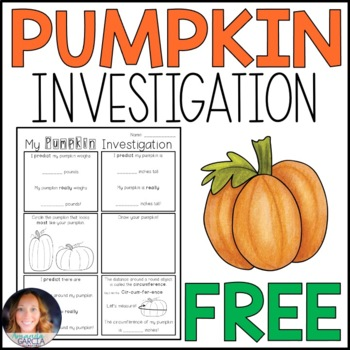 Pumpkin Investigation {No Carving Required!}