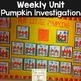 Pumpkin Investigation Unit: Close Read, Literacy, Science,