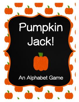 Pumpkin Jack Alphabet Game