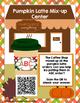 ABC Order Pumpkin Center- Fall Themed Latte Literacy Activity