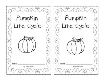 Pumpkin Life Cycle- Emergent Reader