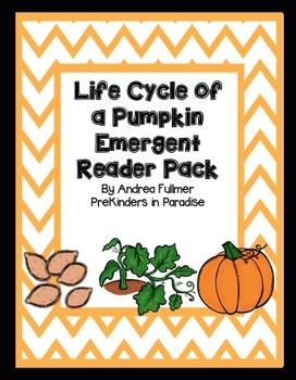 Pumpkin Life Cycle Emergent Reader Pack