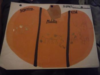 Pumpkin Literacy Graphic Organizer