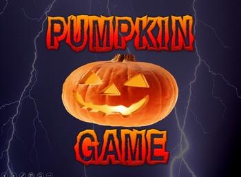 Pumpkin Matching Game PPT