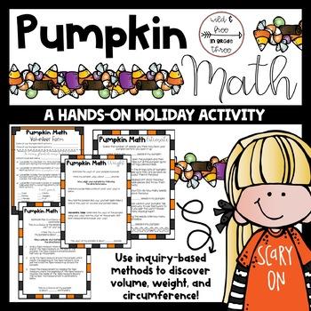 Pumpkin Math: A Hands-On HALLOWEEN Activity in Measurement