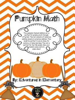 Pumpkin Math - Addition