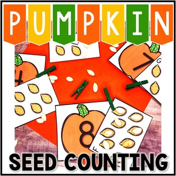 Pumpkin Counting Center! 0-10 or teen numbers! Kindergarte