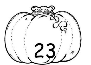 Pumpkin Math Matching