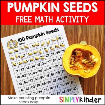 Pumpkin Math - Pumpkin Seed Counting