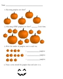 Pumpkin Math Worksheet