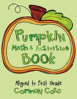 Pumpkin Math and Activities Book