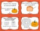 Pumpkin Math and Science Task Cards for Upper Elementary
