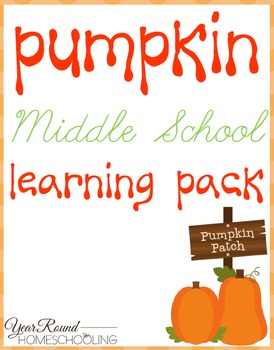 Pumpkin Middle School Learning Pack