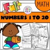 Pumpkin No Prep Math