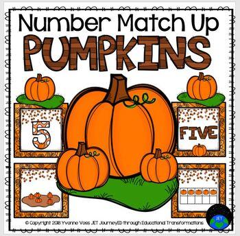 Pumpkin Number Match Up