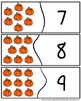 Pumpkin Number Puzzles