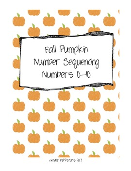 Fall Pumpkin Number Sequencing 0-10