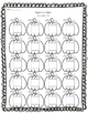 Pumpkin Numbers - Fall Themed Number Work FREEBIE