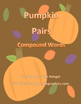 Pumpkin Pairs Compound Words