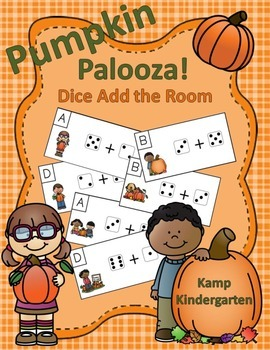 Pumpkin Palooza Dice Add the Room (Sums to 10)