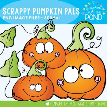 Pumpkin Pals - Scrappy Clipart
