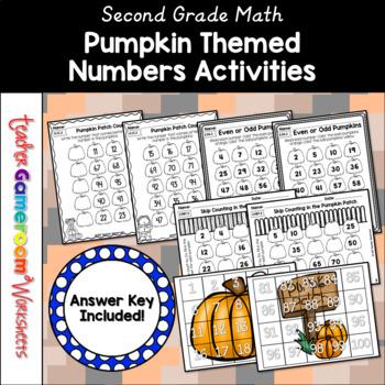 Pumpkin Party Math Packet