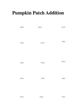 Pumpkin Patch Addition