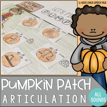 Pumpkin Patch Articulation: No-Prep craftivity!