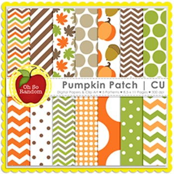 Pumpkin Patch {Commercial Use}